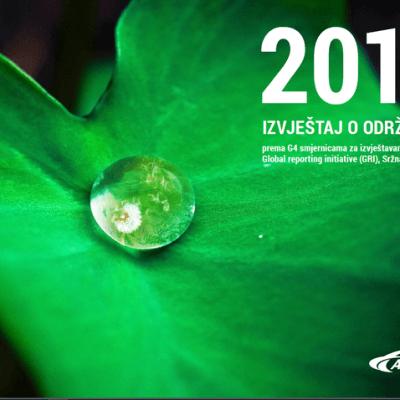 Objavljen Izvještaj o održivosti 2015.