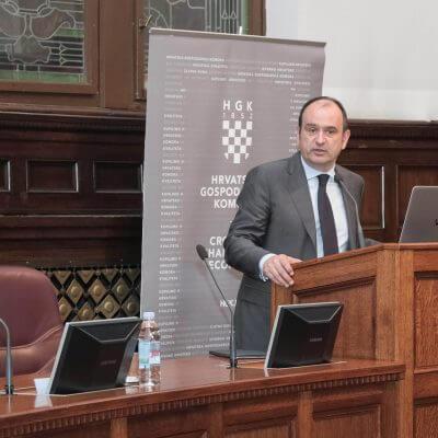 Маринко Дошен председатель Делового совета