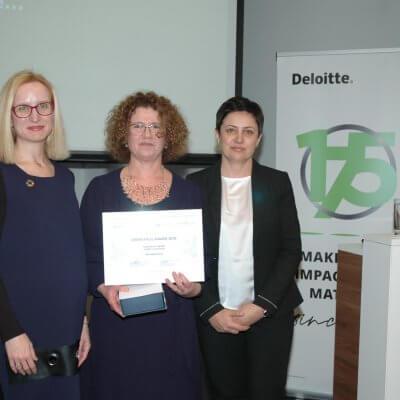 Green Frog díj a legjobb fenntarthatósági jelentésért